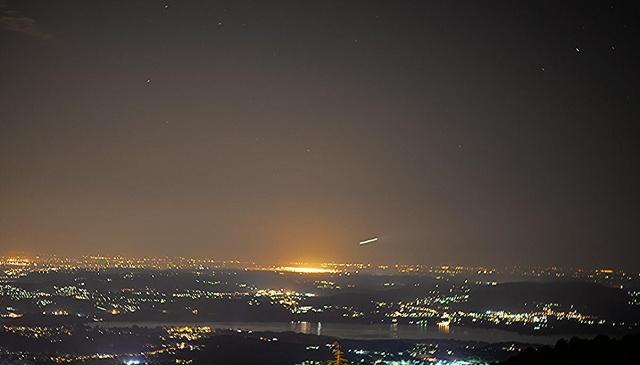 Varese e Malpensa in notturna