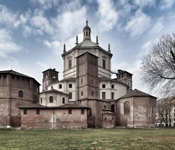 San Lorenzo e il parco delle Basiliche