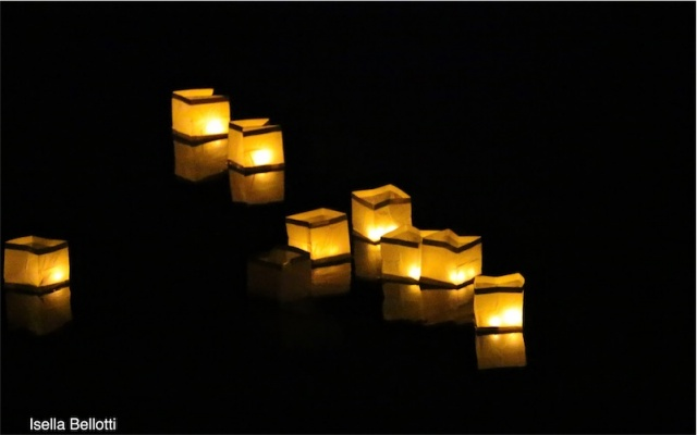 Lanterne sul fiume Tresa