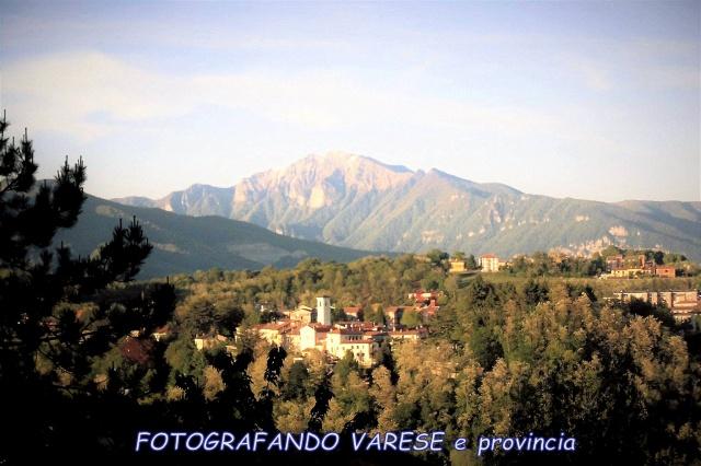 San Fermo con monte Generoso...
