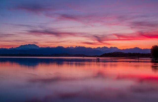 Caldi tramonti primaverili