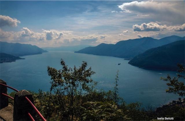 Panorama, lago Maggiore